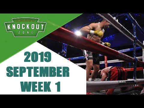 Boxing Knockouts | September 2019 Week 1