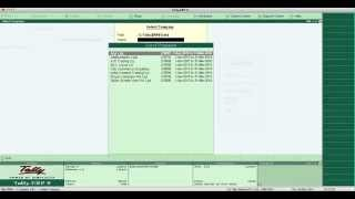 How to delete company in tally erp 9