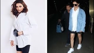 Deepika Padukone Recycles Her Old Look To The Airport, Adds A Denim Touch To It | Fashion