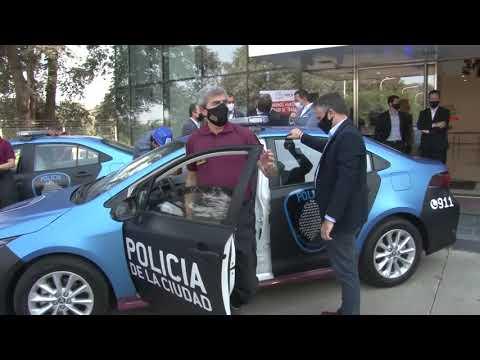 La Policía de la Ciudad recibe 60 patrulleros Toyota Corolla nuevos