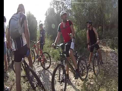 Randonnée Vtt organisé par le camping Le Barralet a Collias