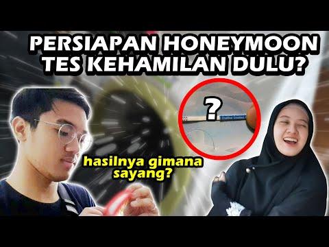TES KEHAMILAN SEBELUM HONEYMOON | Positif Atau Negatif? :')