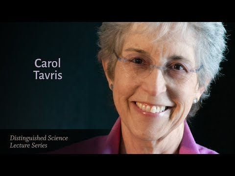 Dr. Carol Tavris — On the Future of Gender, Race & Human Nature