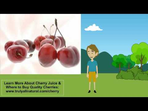 Black & Tart Cherry Juice Benefits and Extracts