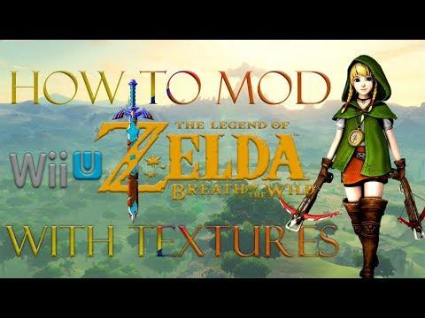 The Legend Of Zelda Breath Of The Wild Wii U Mods Tutorial Gameplay