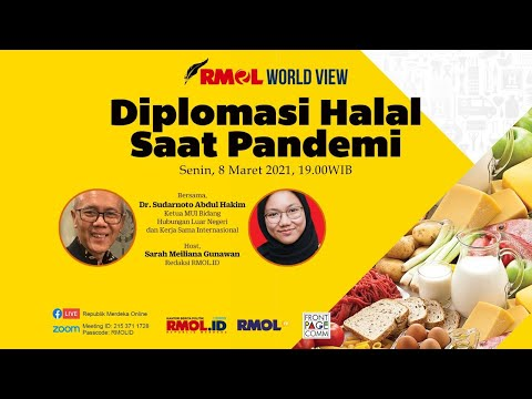 RMOL World View • Diplomasi Halal Saat Pandemi