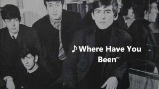 The Beatles - Where Have You Been (Remember Liverpool Beat 32)