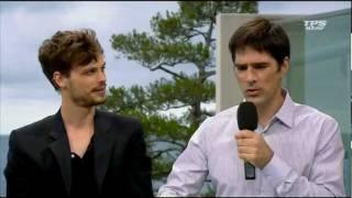 Festival de Monte Carlo : TPS Star : Matthew Gray Gubler et Thomas Gibson - Partie 2