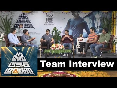Amar Akbar Antony Team interview