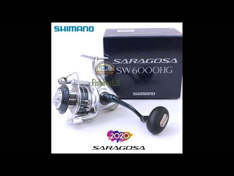 Máy Câu Shimano Saragosa SW6000HG SW8000HG - New 2020