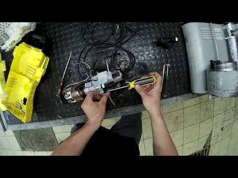 karcher k2 ремонт  замена помпы