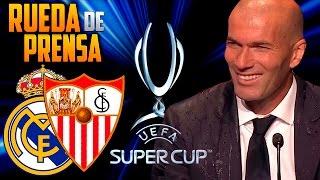 Rueda de prensa Supercopa de Europa 2016 | Real Madrid 3-2 Sevilla