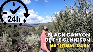 HOW TO see Black Canyon of the Gunnison National Park in less than 24 hours