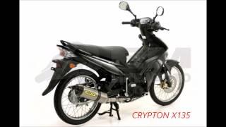 Phân Biệt Yamaha Crypton X 135 HYLAP & Spark 135i Thailand
