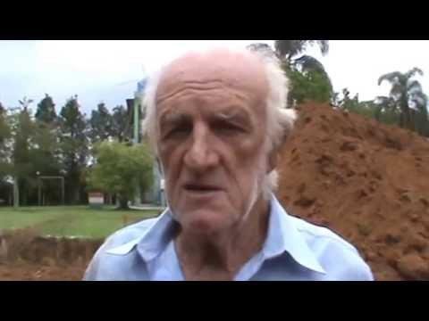 Vicente é plantador de piscinas de Fibra e criador da caixa de contenção