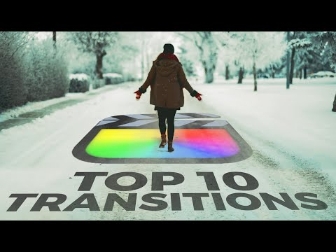The Top 10 SMOOTH Final Cut Pro Transitions You Get For FREE