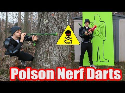 Poison Nerf Darts (DANGEROUS NERF MOD!!)