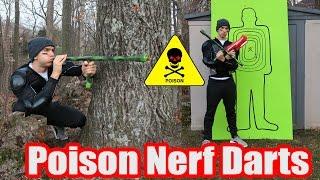 Nerf War: Poison Nerf Darts (The Ultimate Nerf War Dart)
