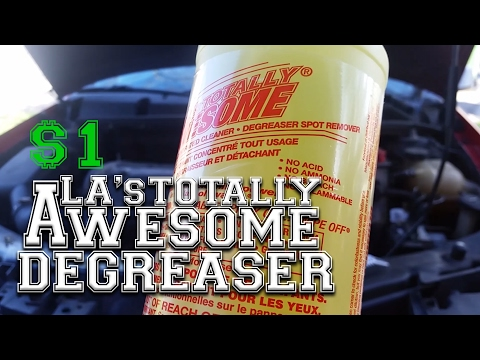 LA's AWESOME Engine Degreaser. BEST $1 Cleaner!