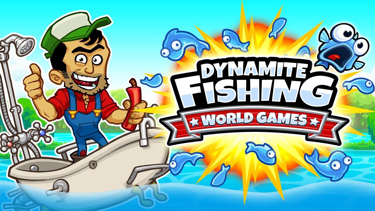 Dynamite Fishing – World Games explodiert am 26. August auf PS4