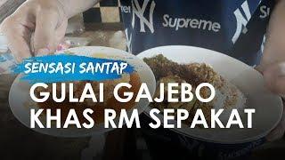 Sensasi Menyantap Gulai Gajebo di RM Sepakat: Kuliner Langka di Restoran Padang Legendaris Jakarta