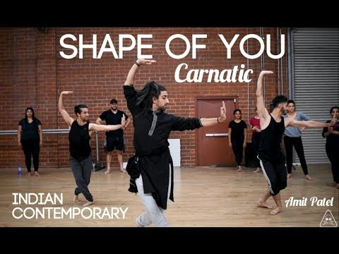 Shape of You Carnatic | Indian Contemporary | Amit Patel | Indian Raga
