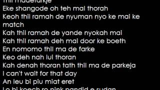 Emmanuel Jal - Gua with lyrics - YouTube