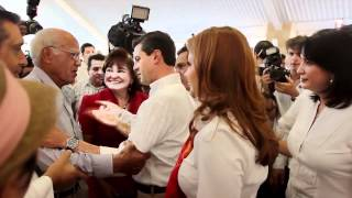 preview picture of video 'Peña Nieto - Villahermosa, Tabasco 25 abril 2012'