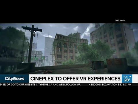 Cineplex to offer virtual reality experiences