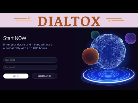 Dialtox.Com отзывы 2019, mmgp, обзор, Cryptocurrency Cloud Mining, Get Free 10 GH/s