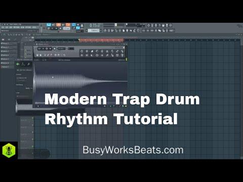 How to Make Modern Trap Drum Rhythms TRAP Series Pt.2