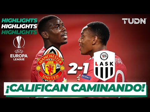 Highlights | Man United 2-1 LASK | Europa League 2020 – Octavos final | TUDN