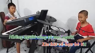 Một Đời Người Một Rừng Cây [ KaraOke nhạc sống Slow Rock ] - Nhạc Sống PHONG BẢO