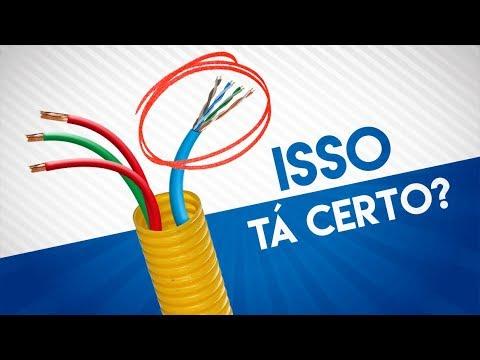 🔴 Cabo de Rede JUNTO com a Rede Elétrica... Saiba O QUE ACONTECE