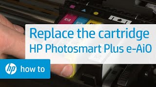 Replacing a Cartridge - HP Photosmart Plus e-All-in-One Printer (B210a)