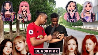 Asking strangers to pick the most beautiful BLACKPINK member
