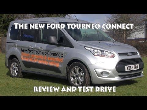 Ford  Tourneo  Connect Минивен класса M - тест-драйв 3