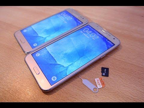 Samsung Galaxy J7 / J5 - How to Insert SIM Cards & Micro SD Card EASILY!