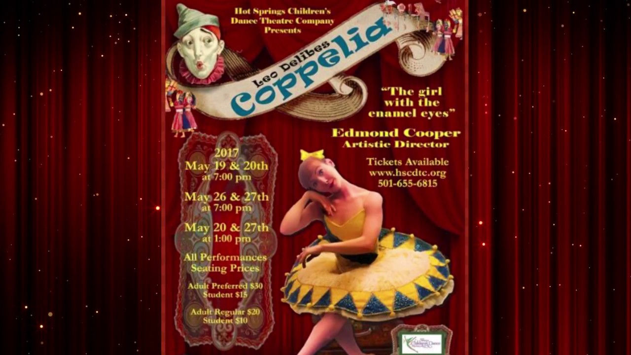 Hot Springs Children's Dance Theatre - Coppelia Promo