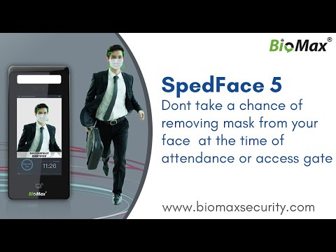 Speed Face 5 Facial Attendance And Access Control