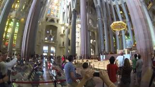 preview picture of video 'La Sagrada Familia Entrance'