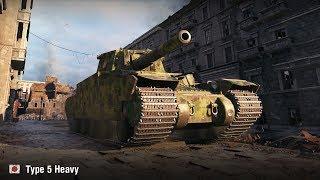 10750 урона на Type 5 Heavy | Химмельсдорф