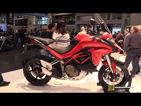 2015 Ducati Multistrada 1200 - Walkaround - 2014 New York Motorcycle Show