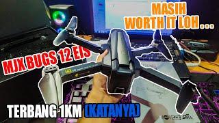 Unboxing Drone Lipat MJX Bugs 12 Ada EIS dan GPS nya di Harga Drone 2 Jutaan Sudah 4K GPS