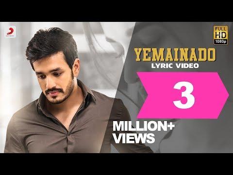 Mr.Majnu - Yemainado Lyrical Video