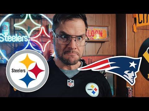 Dad Reacts to Steelers vs Patriots (Week 15)