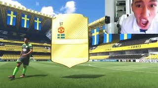 FIFA 17 OMG 90 IBRAHIMOVIC IN A PACK BEST FUT DRAFT PACK EVER
