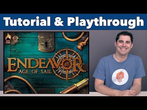 JonGetsGames - Endeavor Age of Sail Tutorial & Playthrough