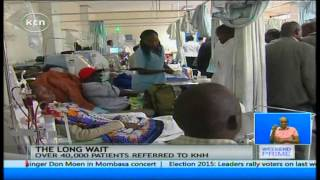 Kenyatta National Hospital management reveals cancer patients wait treatment till 2017