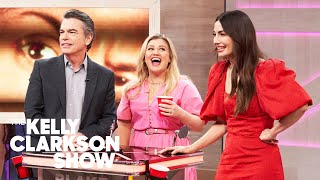 Lily Aldridge, Peter Gallagher And Kelly Guess Famous People's Eyebrows